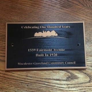 Century Building Plaque
